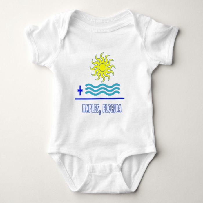 Sun + Waves = Baby Bodysuit