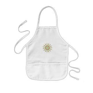 Sun white apron