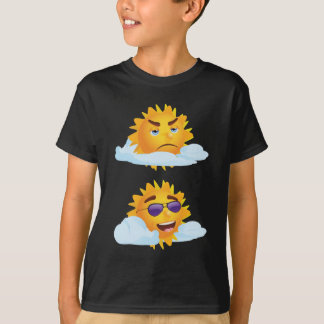 Sun with Clouds T-Shirt