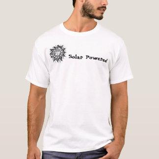 Sun with face, Solar Powered T-Shirt