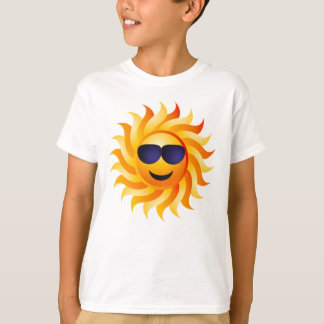 SUN WITH SHADES ON T-Shirt