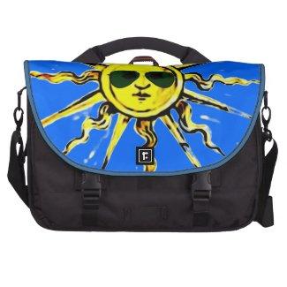 sun with sun glasses