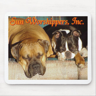 Sun Worshippers, Inc. Mouse Pad