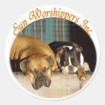 Sun Worshippers, Inc. Sticker