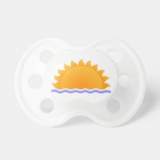 Sun y agua chupete de bebe