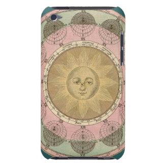 Sun y detalle de las estaciones de la antigüedad c iPod Case-Mate coberturas