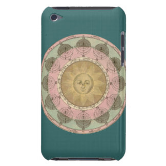 Sun y detalle de las estaciones de la antigüedad c iPod Case-Mate carcasas