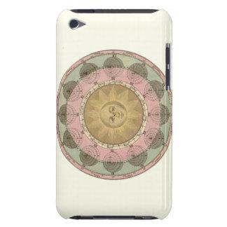 Sun y detalle de las estaciones de la antigüedad c iPod Case-Mate cárcasa