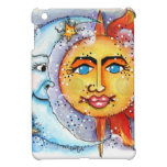 Sun y diseño de la luna iPad mini cárcasa