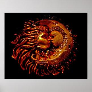 Sun y luna cara a cara posters