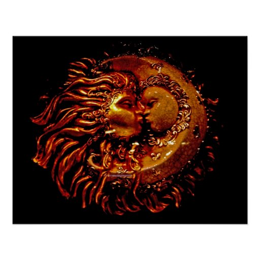 Sun y luna cara a cara póster