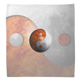 Sun y luna Yin Yang Bandanas