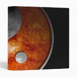 Sun y luna Yin Yang Carpeta 2,5 Cm
