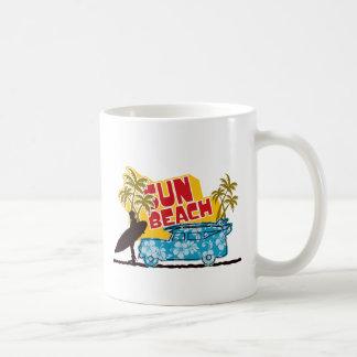 Sun y resaca retros tazas