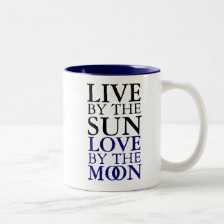 Sun y taza de la luna