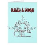 Sun y un libro felicitaciones