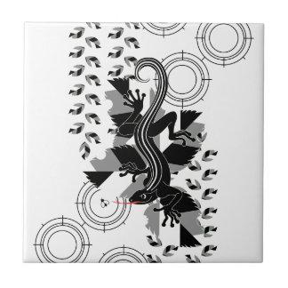 sunaipatokage (Sniper lizard) Ceramic Tile