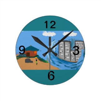 sunamy wall clock