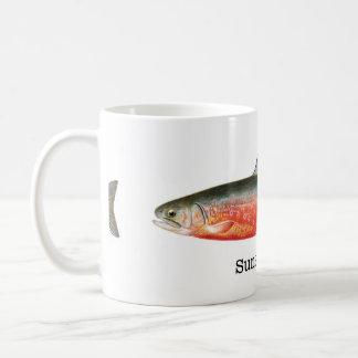 Sunapee Trout Fish Coffee Mug