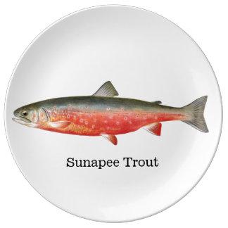 Sunapee Trout Plate