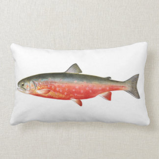 Sunapee Trout Trout Fish Pillow