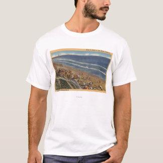 Sunbathers Looking Towards Belmont Shores T-Shirt