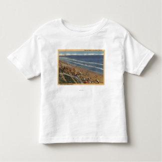 Sunbathers Looking Towards Belmont Shores Toddler T-shirt