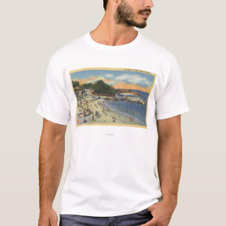 Sunbathers & Swimmers at the Beach T-Shirt