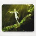 Sunbathing Fairy mousepad