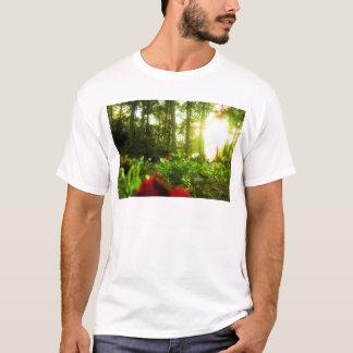 Sunbathing Flowers T-Shirt