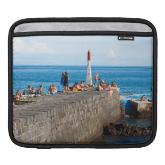 Sunbathing in Azores Sleeve For iPads