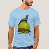Sunbathing Sea Lion T-Shirt