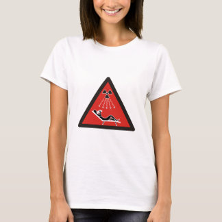 Sunbathing Warning T-Shirt