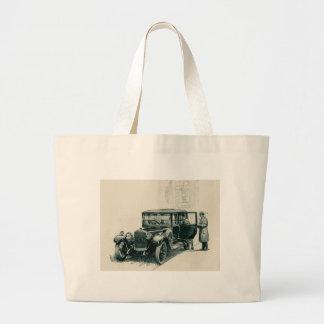 Sunbeam car large tote bag