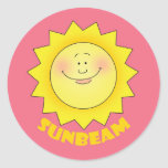 Sunbeam Classic Round Sticker