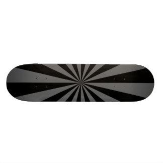 Sunbeam in Black and Grey Skateboard