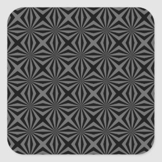 Sunbeam in Black and Grey tiled Sticker