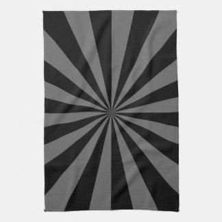 Sunbeam in Black and Grey Towels