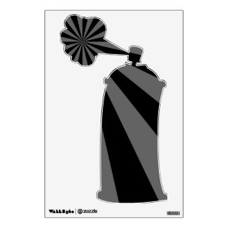 Sunbeam in Black and Grey Wall Decal