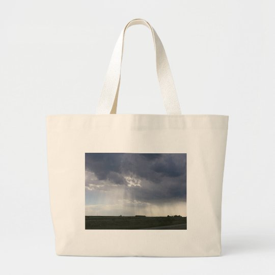 Sunbeam Landscape Large Tote Bag
