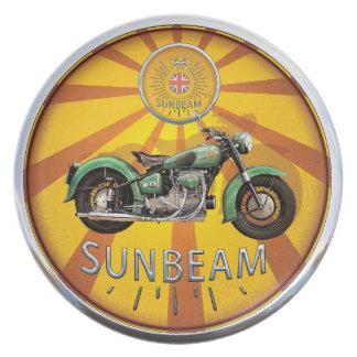 Sunbeam motorcycles plate