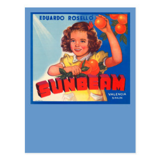 Sunbeam Postcard