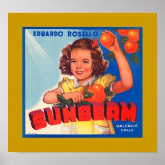 Sunbeam Poster