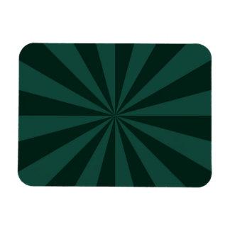 Sunbeams in Green Vinyl Magnets