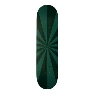 Sunbeams in Green  Skateboard