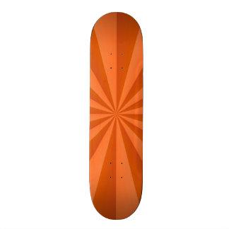 Sunbeams in Orange Skateboard