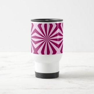 Sunbeams in shades of pink tiled Mug