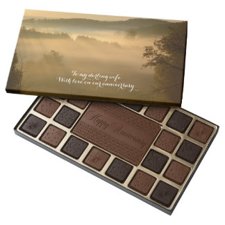Sunbeams in the mist anniversary assorted chocolates