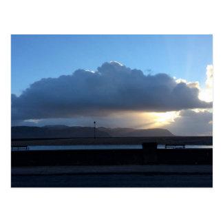 Sunbeams over Conwy postcards