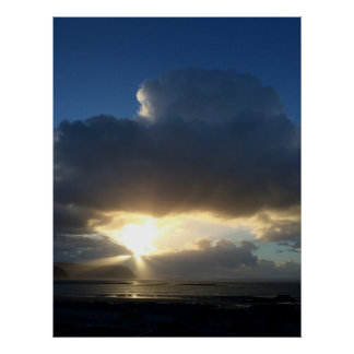 Sunbeams over Conwy posters